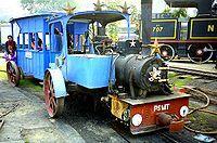 Паровой двигатель, изготовленный для Национального музея железных дорог Пароаля Национальный железнодорожный музей, Нью-Дели