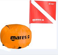 Буй для подводной охоты и дайвинга Mares Tech Sphere марес течь спхиа
