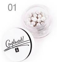 Хайлайтер для лица в шариках Relouis Complimenti Тон 01 жемчужный