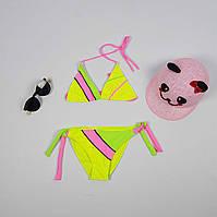 Купальник детский треугольник, размеры от 34 до 42  с 8 до 15 лет