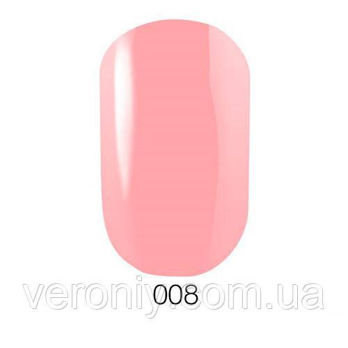 Гель лак GO  008 (светлый розовый, эмаль), 5.8 мл