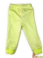 ШР 2 Штани дитячі, інтерлок р.74 колір600 зелений