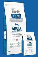 Brit Care Adult Large Breed Lamb & Rice Корм для взрослых собак крупных пород с ягненком и рисом 1 кг