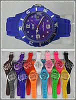 Яркие Летние и Модные  женские Наручные Часы ICE Синие в Наличии