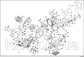 Запасные части к горелке Riello RS/M MZ