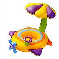 Детский надувной плотик Intex 56580 Самолётик