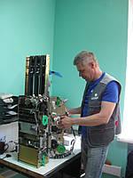 Обслуживание и ремонт счетчика и сортировщика банкнот