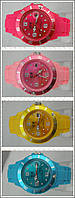 Яркие Летние и Модные  женские Наручные Часы ICE Желтые в Наличии