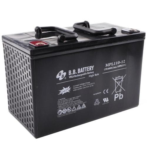 Аккумуляторная батарея B.B. Battery MPL 110-12 (12V, 110 Ah)
