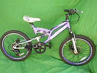 Підлітковий велосипед Dunlop колеса 20