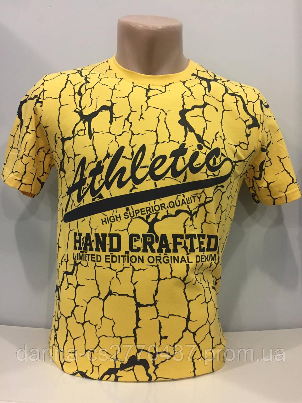 Мужская футболка модная M,L,2XL