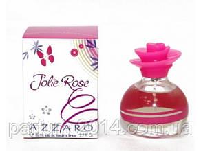Женская туалетная вода Azzaro Jolie Rose 80 ml  (реплика)