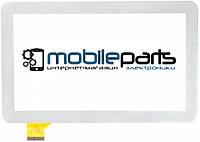 """Оригинальный Сенсор (Тачскрин) для планшета 7"""" Cortland Tab001 (186*111 мм,30 pin) (Белый-Самоклейка)"""