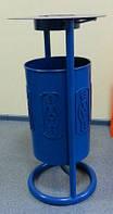 Урна для мусора с пепельницей УК3, фото 1