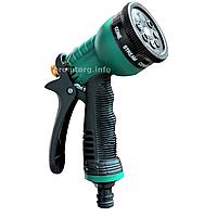 Пистолет для полива PRESTO 8-функциональный, металл усиленный