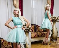 Платье выпускное до колена