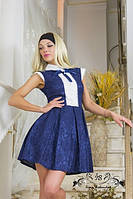 Платье жакардовое