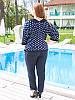 """Женские летние брюки большого размера """"Кола"""" до 70 и более, фото 2"""