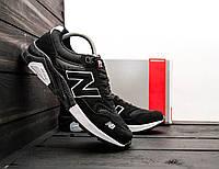 Черные Мужские Кроссовки New Balance арт.1012, фото 1
