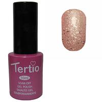 Гель-лак №171 (розовый с блестками) 10 мл Tertio