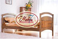 Односпальная кровать - Карина, самая низкая цена от производителя, Акция!!! Из натурального цельного дерева