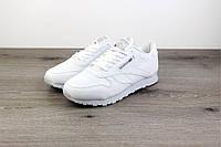 Женские кроссовки Reebok Classic Leather White, Копия, фото 1