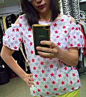 Женская модная блузка ЛЮ129