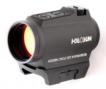 Коллиматорный прицел Holosun PARALOW HS503BU на Weaver/Picatinny 2/65MOA