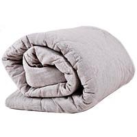 Льняные одеяла с льняной тканью