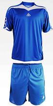 Форма футбольная Liga Sport синяя с вырезом