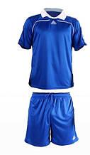 Форма футбольная Liga Sport синяя с воротником