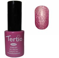 Гель-лак №180 (розовый с блестками) 10 мл Tertio