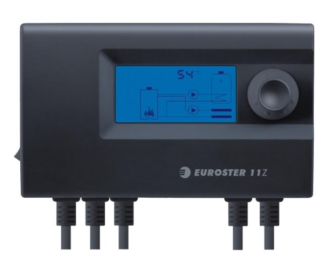 Термоконтроллер для твердотопливных котлов EUROSTER 11W