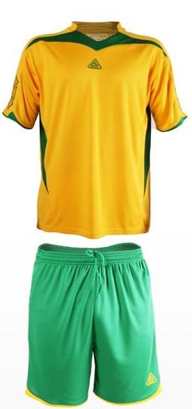 Форма футбольная Liga Sport желто-зеленая