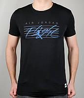 Мужская футболка NIKE 3888 Чёрный