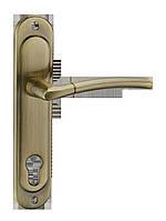 Дверна ручка на короткій планці A-1210-85 AB