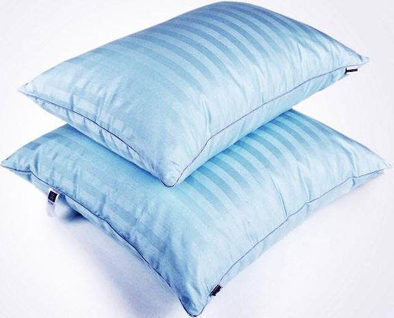 Подушка антиаллергенная Valentino Tencel регулируемая (низкая), фото 2