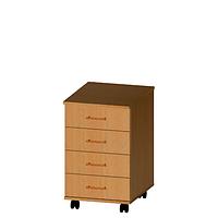 Тумба мобильная (4 ящика), фото 1