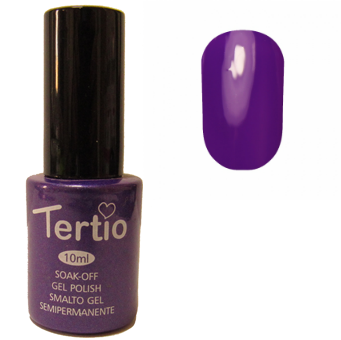 Гель-лак №185 (фиолетовый перламутр) 10 мл Tertio