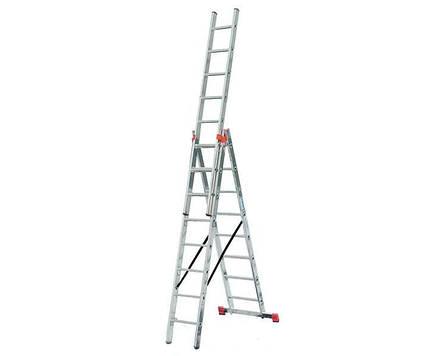 Трехсекционная лестница 3х8 KRAUSE Tribilo