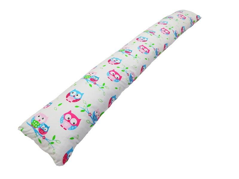 Подушка для беременных «I» образная прямая Совы (с наволочкой)