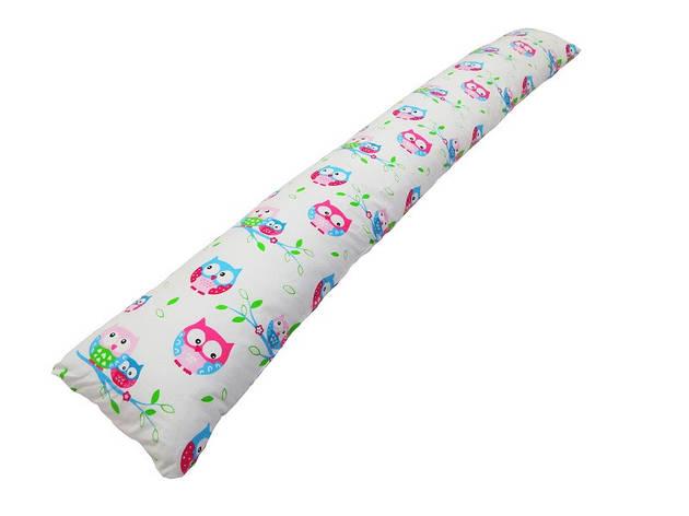 Подушка для беременных «I» образная прямая Совы (с наволочкой), фото 2