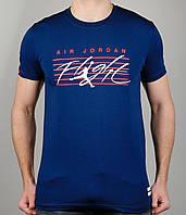 Мужская футболка NIKE 3889 Тёмно-синяя