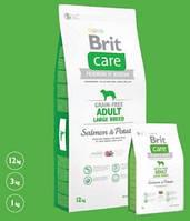 Brit Care Adult Large Breed Salmon & Potate Беззерновой корм для собак крупных пород с лососем и картофелем