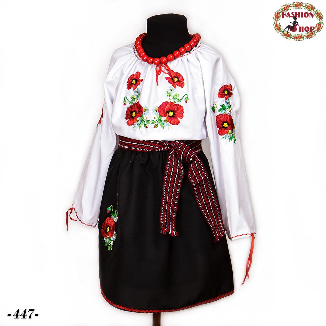 Дитячий національний вишитий костюм Іринка (3-4 роки) -