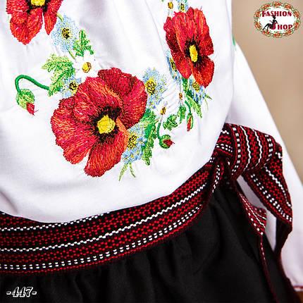Дитячий національний вишитий костюм Іринка (3-4 роки), фото 2