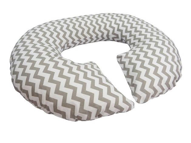 Подушка для беременных «Рогалик» Зигзаг с наволочкой, фото 2