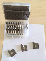 Профильный нож 12х14,5х2 R2 на проходные станки Brandt 340, Brandt 335, некоторые серии Felder, Hebrock, SCM