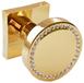 Дверна ручка кноб ORO&ORO 105KСR-13E в кольорі  GP - Золото