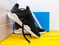 Черные Мужские Кроссовки Adidas EQT ADV Support арт.1019, фото 1